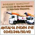 Antalya BOrabey evden eve nakliyat