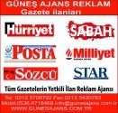 Güneş Ajans Gazete ilanları